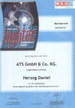 Daniel Herzog Abschluss