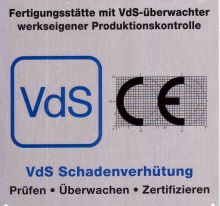 VdS Approval Production